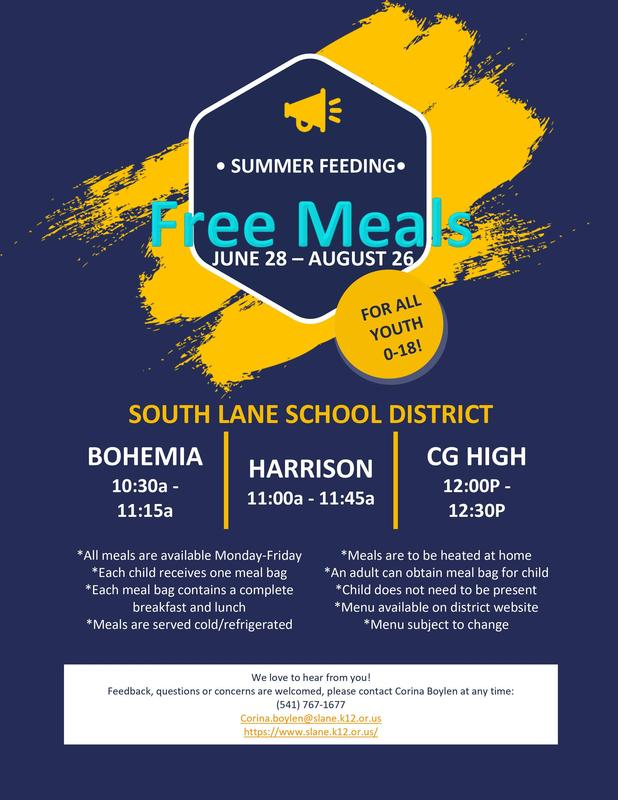 Free Meals for All Youth!! Featured Photo
