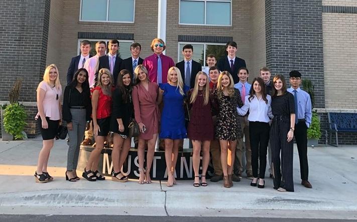 BIC FBLA Students 2019