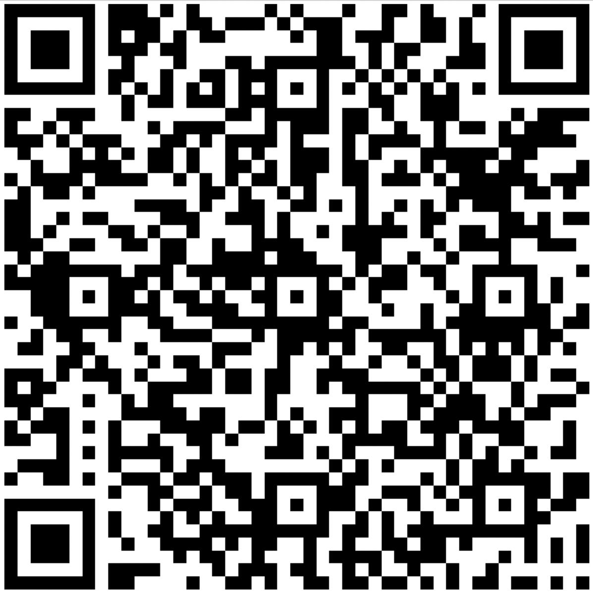 Student Survey QR Code