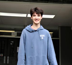 WHS 12th grader Blake Baretz is among seven WHS students named as 2021-2022 National Hispanic Scholars by the College Board Recognition Program.