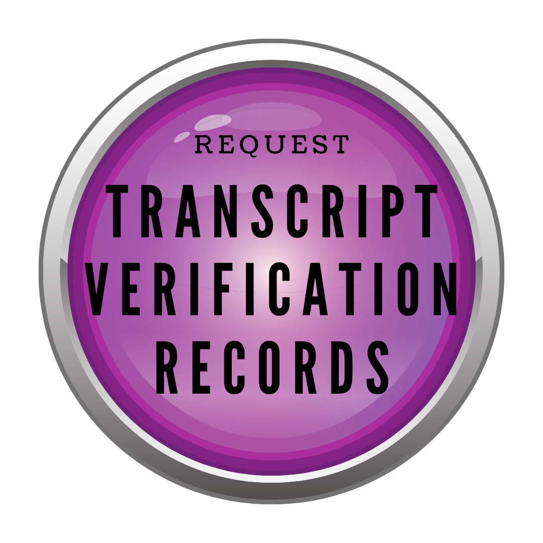 purple button to request WVOC transcripts or records