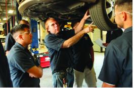Automotive Services Teacher Instruction