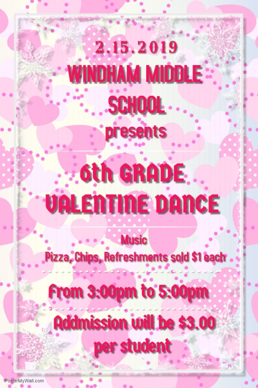 6th Grade Valentine Dance Thumbnail Image