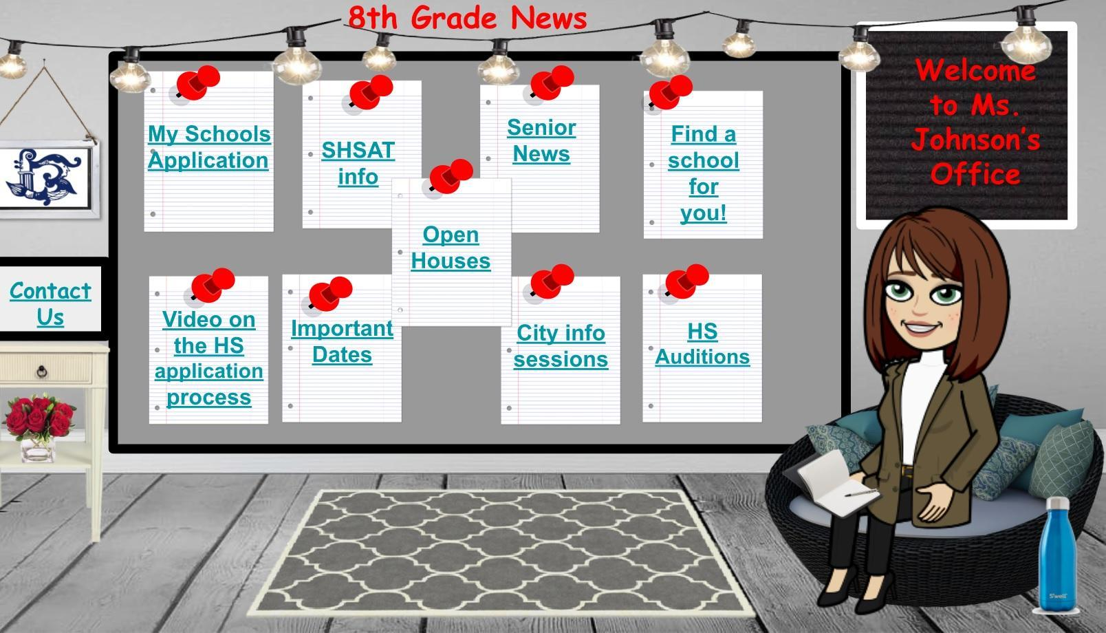 8th Grade Virtual Office