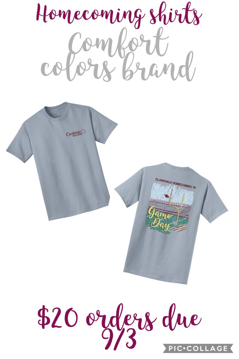 Homecoming Tshirt Design