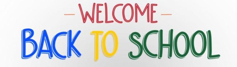 Welcome Back To School Letter 2020-2021 Thumbnail Image