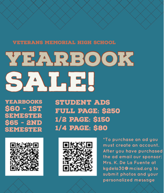 VMHS Students:  Order Your Yearbooks Featured Photo
