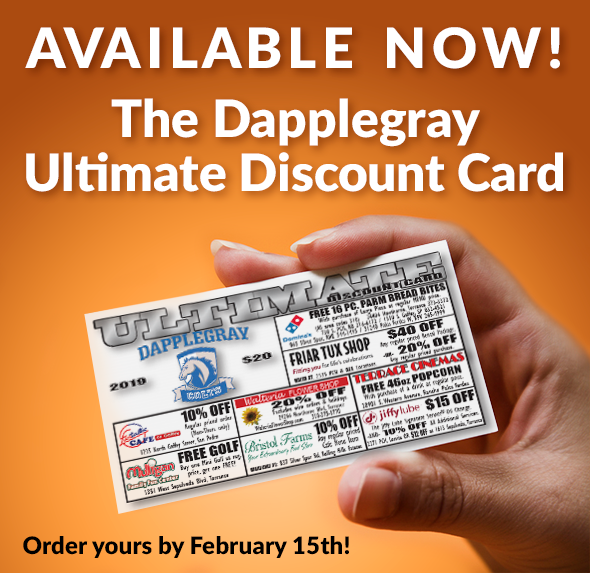 Dapplegray Ultimate Discount Card (Click Here for Flyer) Thumbnail Image