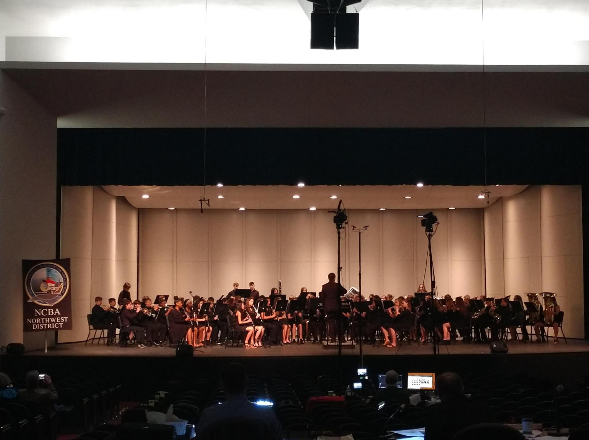 8th Grade Band at MPA, 2019