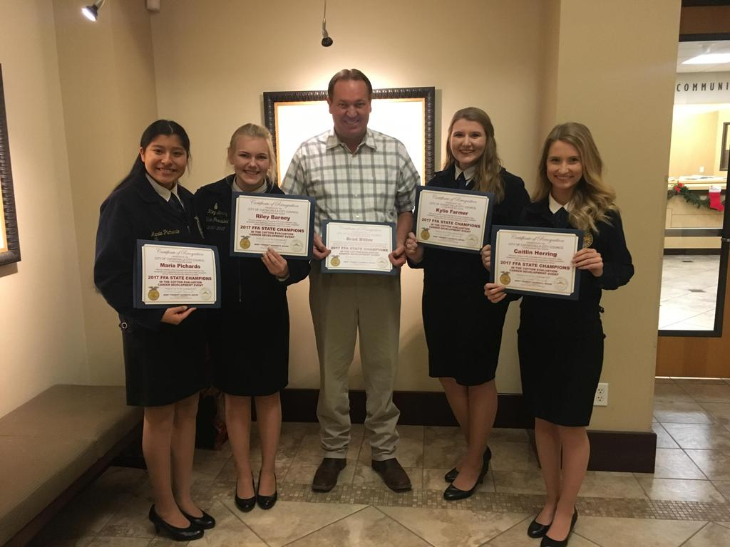 Cotton Team Recognition by the Chowchilla City Council