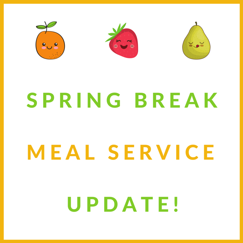 MEAL SERVICE FLYER UPDATE