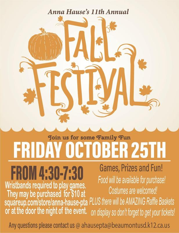 Fall festival information