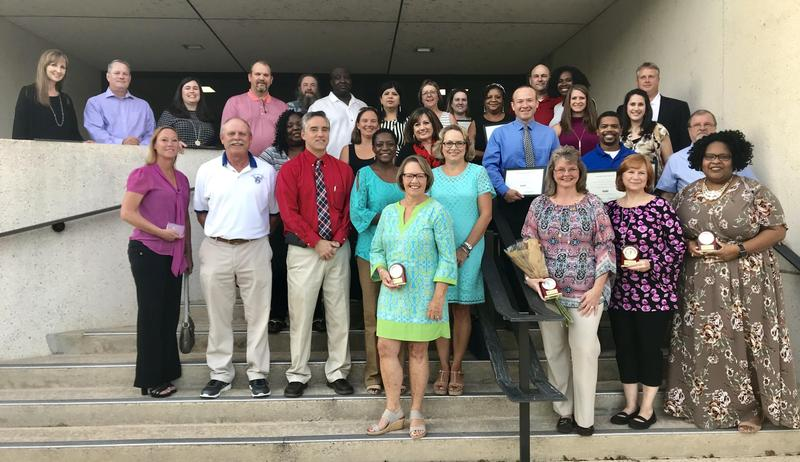 Lexington Two employees honored for service
