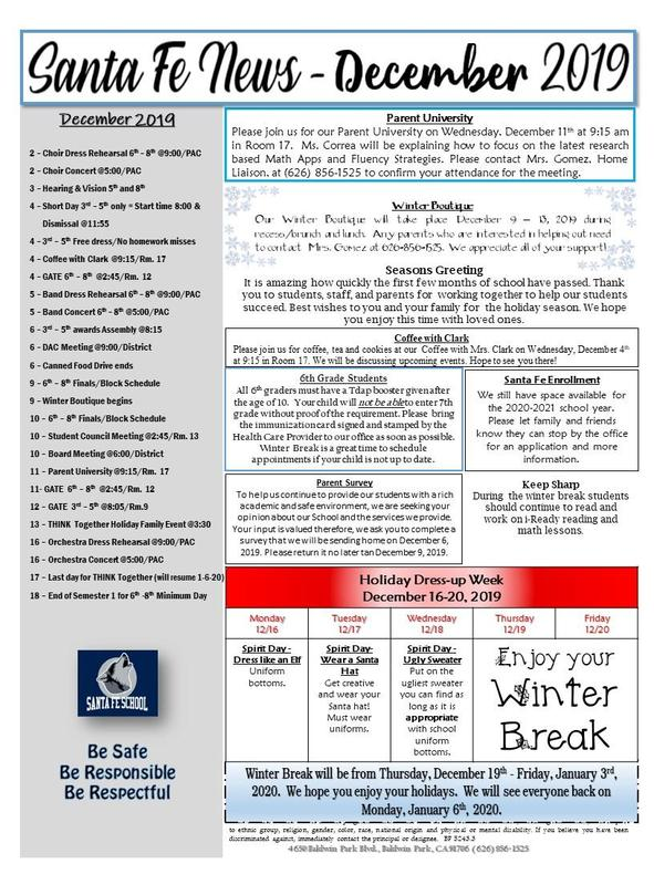 December Newsletter Featured Photo