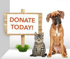 dog and cat donations