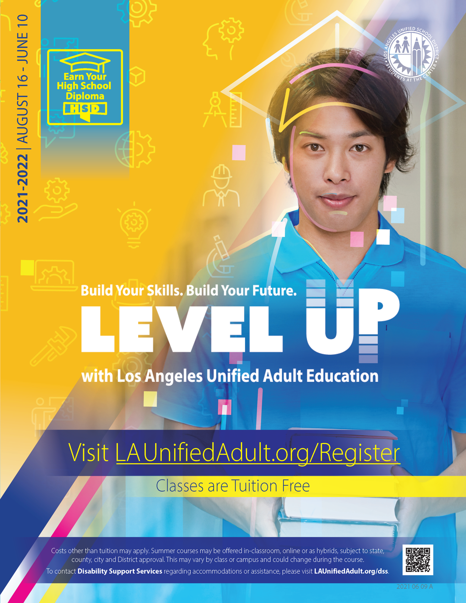 High School Diploma & Equivalency Flyer - Cover 02
