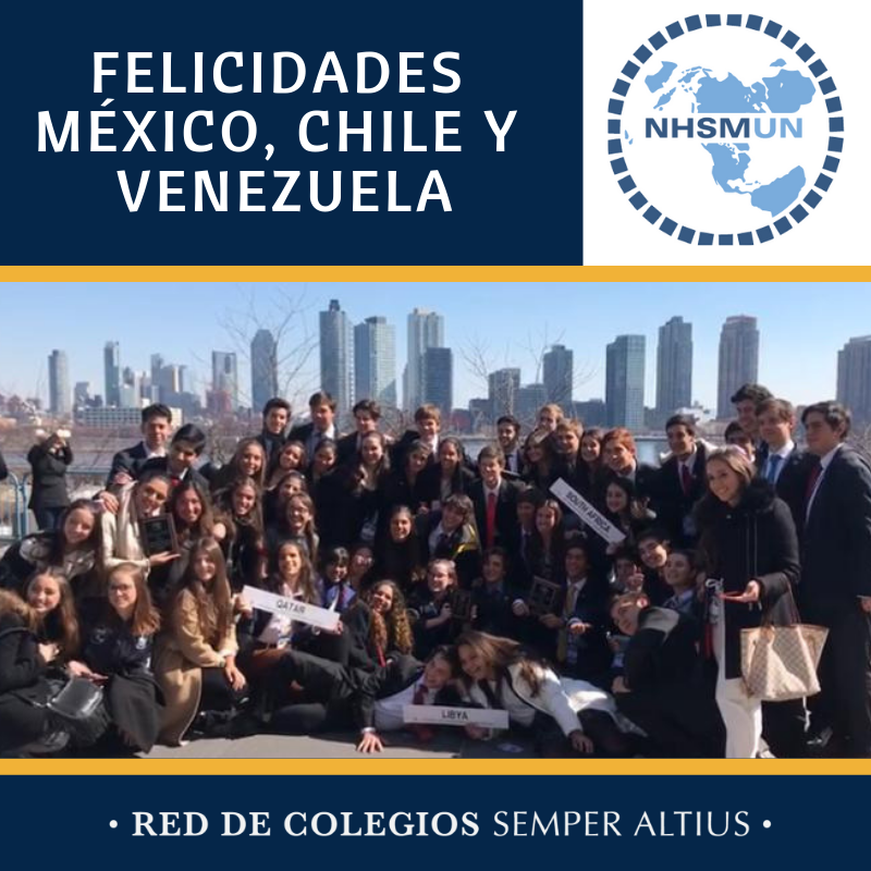 Alumnos del Instituto Cumbres México, Instituto Rosedal México, Instituto Andes Caracas y Colegio Cumbres Chile destacan en el NHSMUN en Nueva York Featured Photo