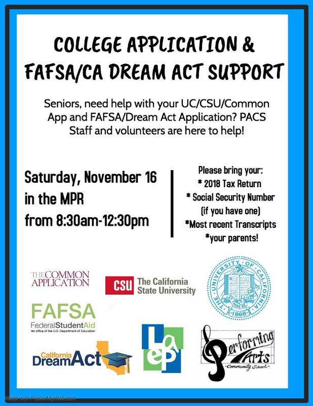 College Apps & FAFSA/CA Dream Act Support Featured Photo
