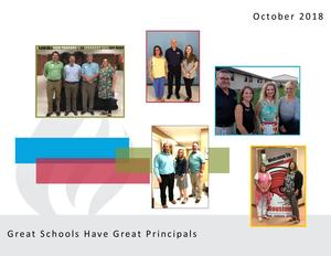 October is Principals Month