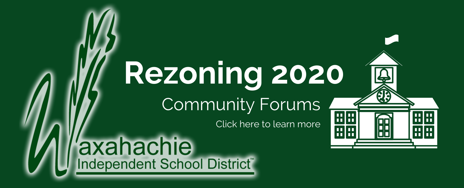 Click here to learn more about Rezoning 2020 Community Forums