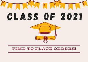 Maroon Graduation School Academy Hat Congratulations Card.jpg