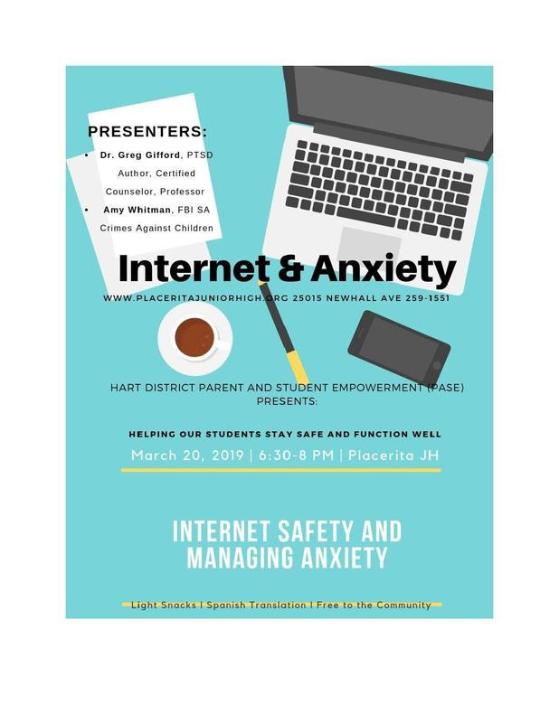 Anxiety and Internet Safety