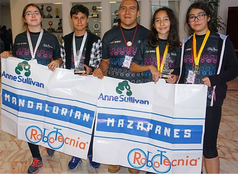 Primer lugar Nacional en la World Robotic Olympiad, WRO Featured Photo