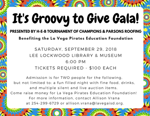 It's Groovy to Give Gala - September 29, 2018