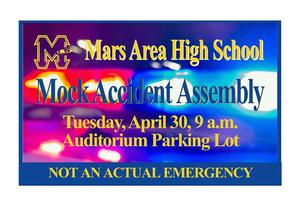 Mars Area High School Mock Accident Assembly