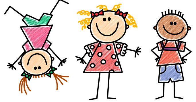 clip art of kids