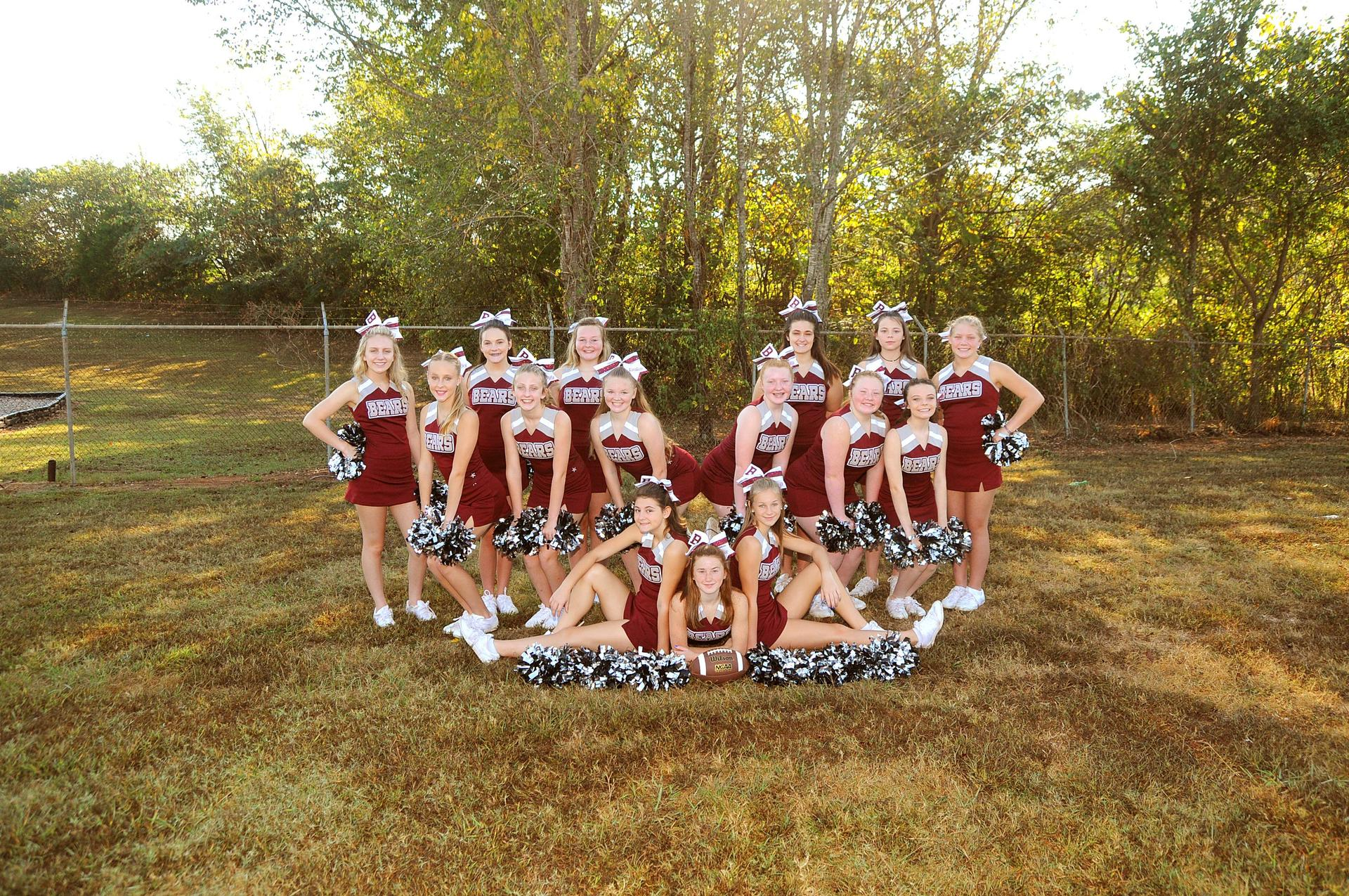 TPJHS Cheerleaders