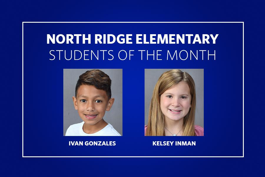 North Ridge Students of the Month