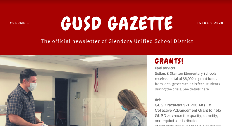 GUSD Gazette Flyer