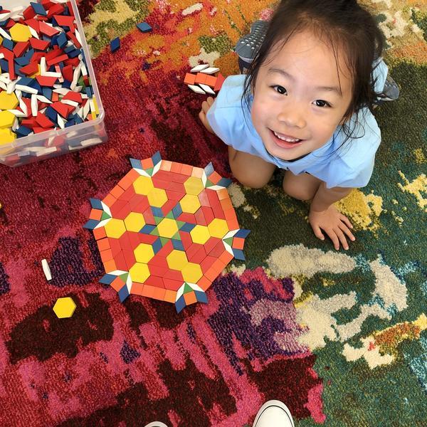 High Point Academy Kindergarten student.