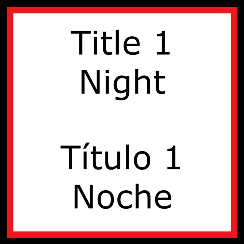 Title 1 Night Título 1 Noche