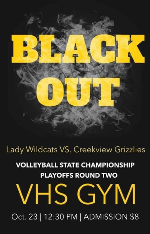 VHS Volleyball Round 2 of State Tournament