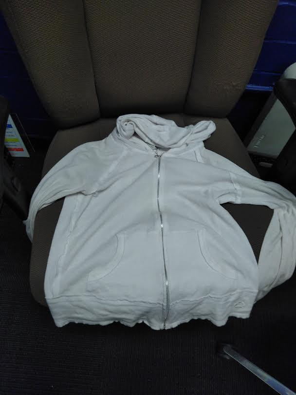 white jacket found 10/5
