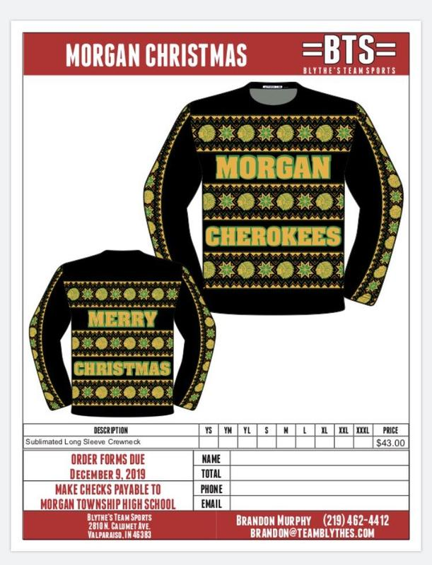 Dance Team is Selling Morgan Christmas Shirts Featured Photo