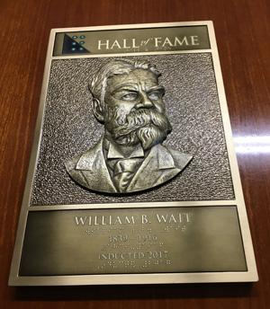 Hall of Fame Logo with plaque