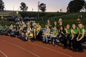 band at football game