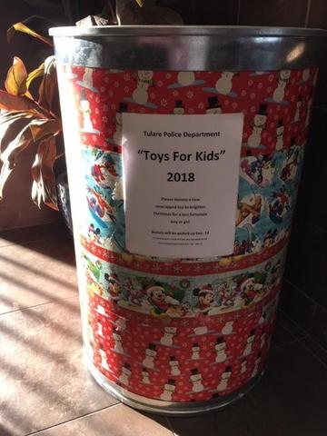 Toys for Kids donations