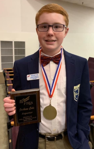 Several Students Succeed at Junior High FBLA Conference Featured Photo