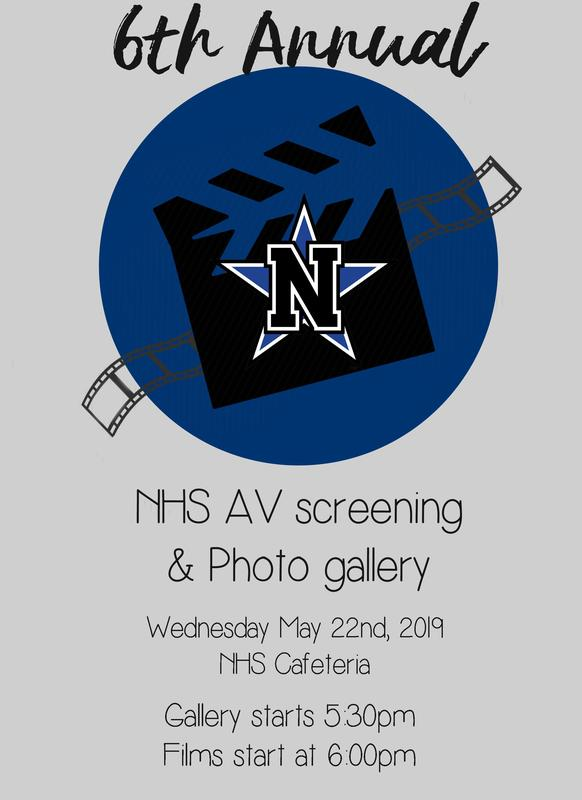 NHS 6th ANNUAL AV SCREENING AND PHOTO GALLERY MAY 22 Featured Photo
