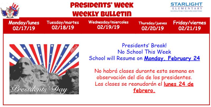 Presidents' Week
