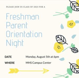 Freshman Orientation 2019