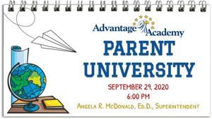 Parent University September 2020 Image