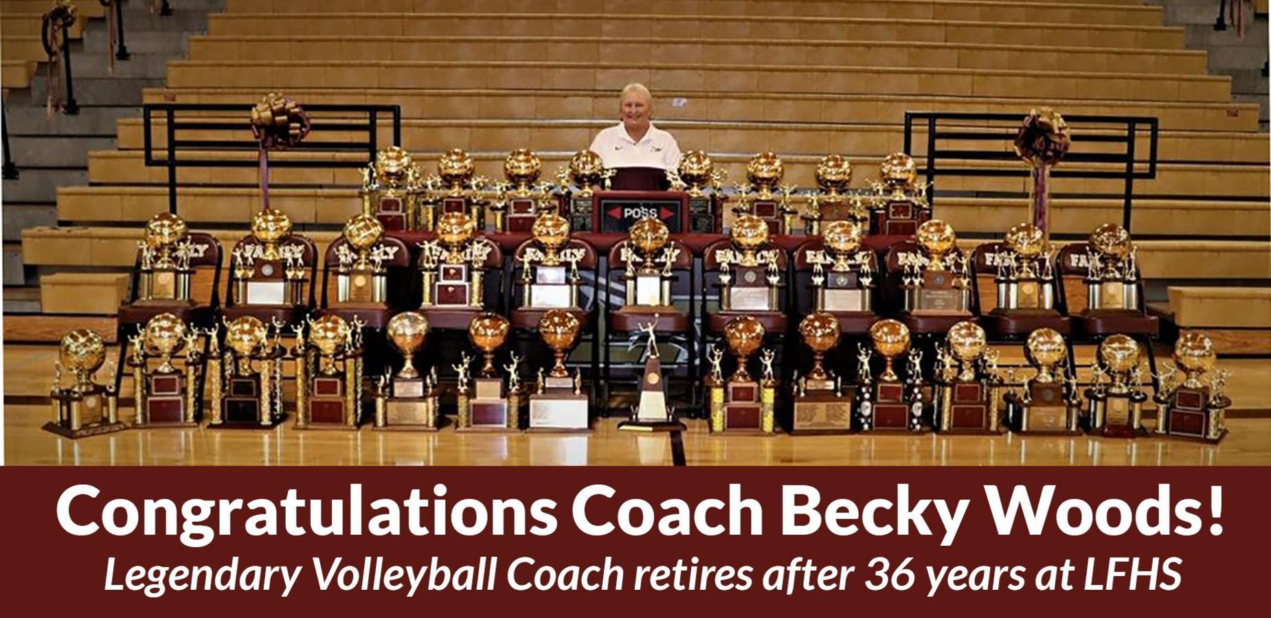 Becky Woods retires