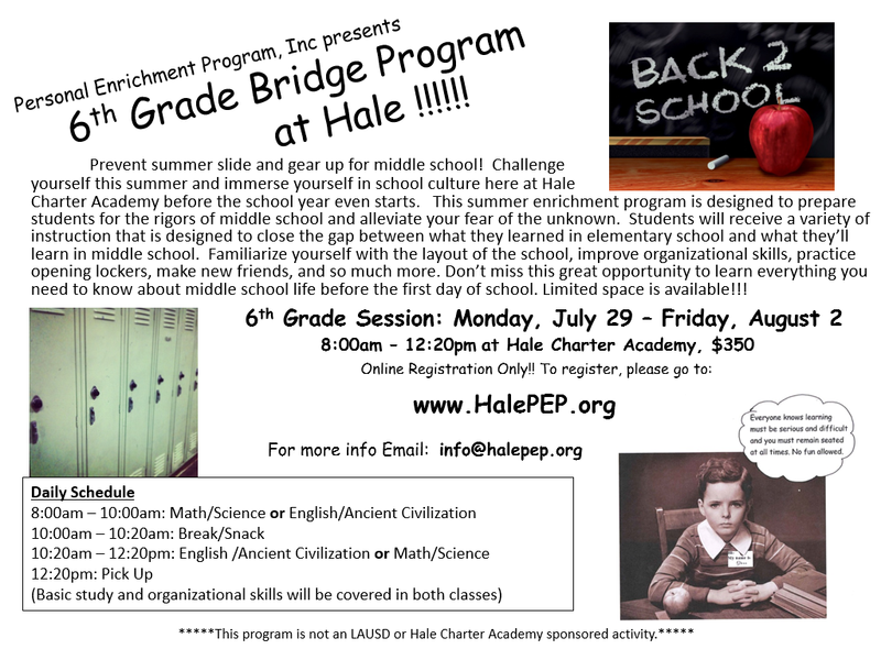 Summer Bridge program Featured Photo