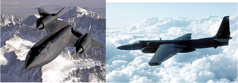Blackbird & U2 Jets
