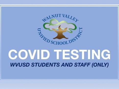 WVUSD Testing